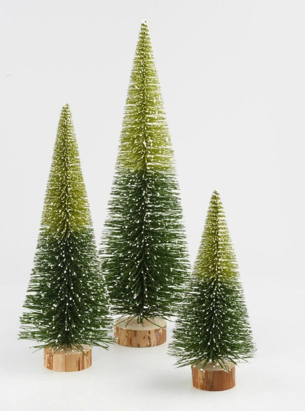 On my wish list? Yes! These ombre sisal trees from World Market. So ...