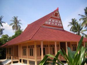 Baileo house from maluku