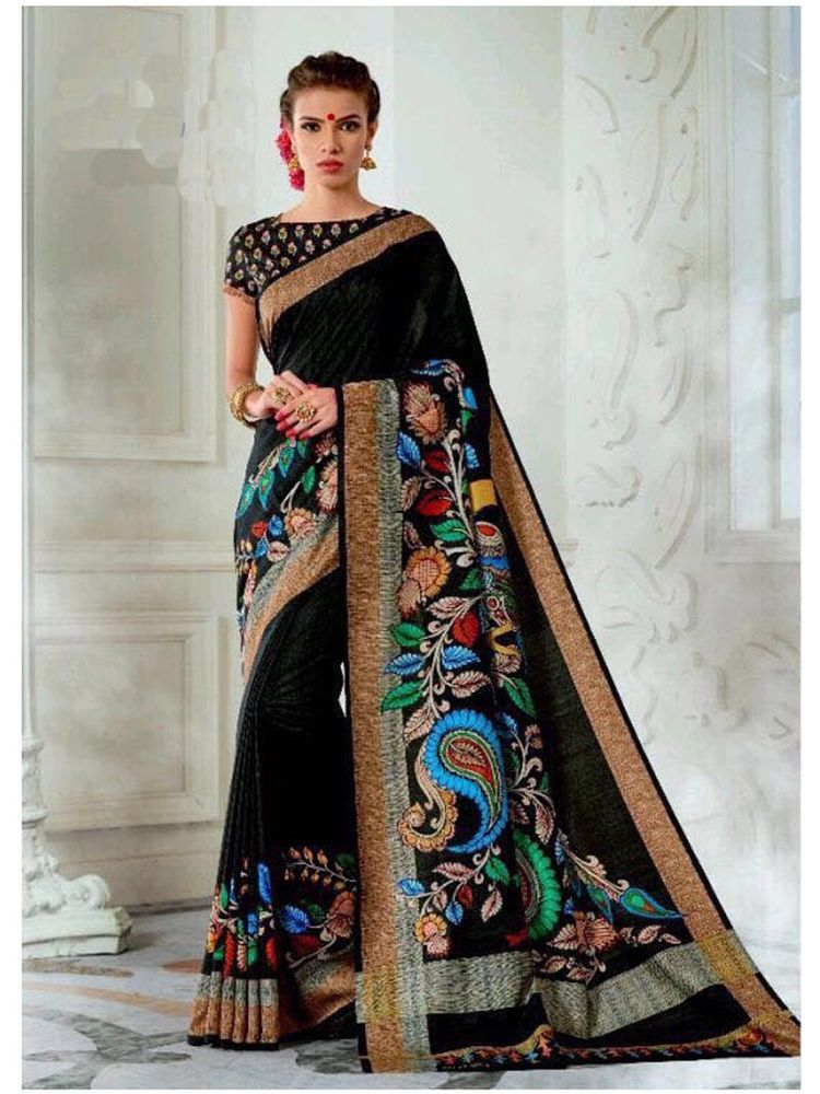 a72960cb41 new designer traditional and party wear digital print tusser silk saree  blouse #Shoppingover #SareeBlouse