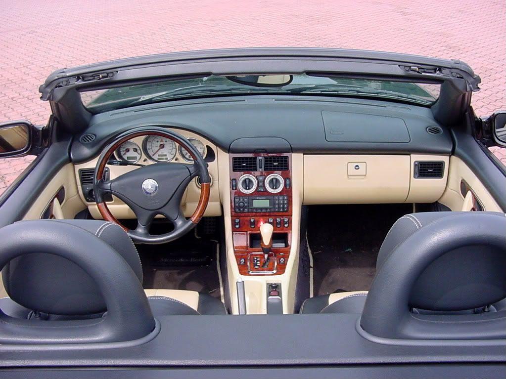 Mercedes Slk 320 Convertible Interior
