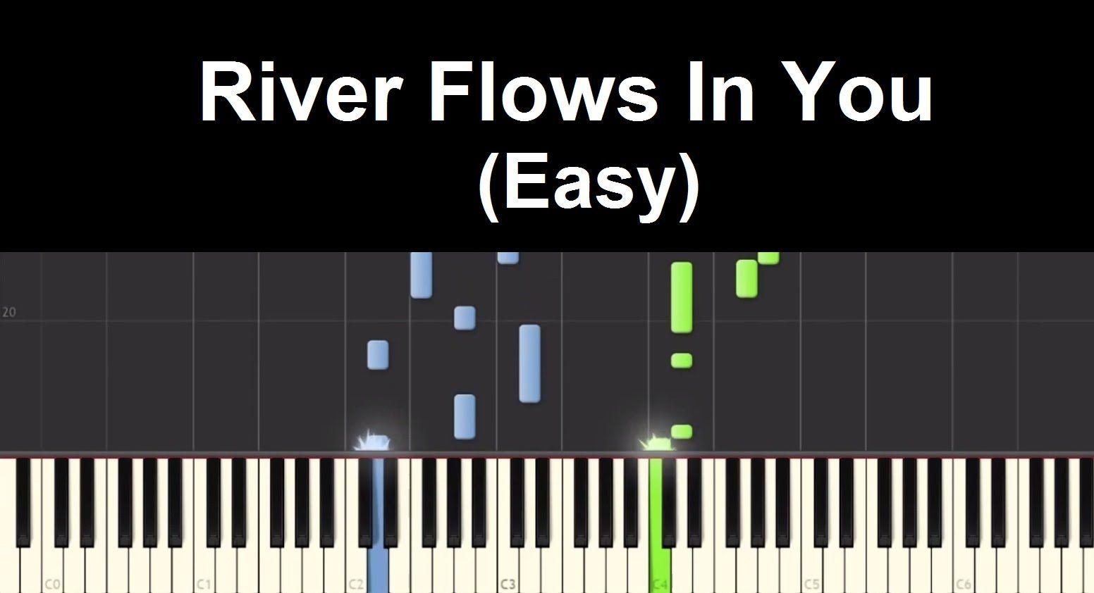 River flows in you yiruma piano tutorial 50 bội