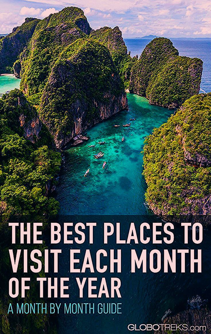 Photo of The Best Places To Visit Each Month of the Year