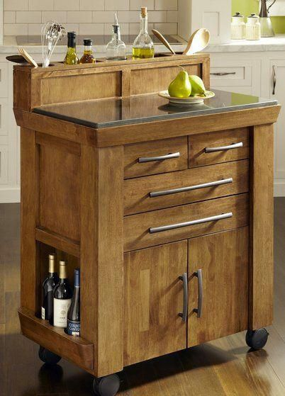 vintage oak kitchen kart rc willey furniture store smallkitchen in 2020 outdoor kitchen on outdoor kitchen on wheels id=44943