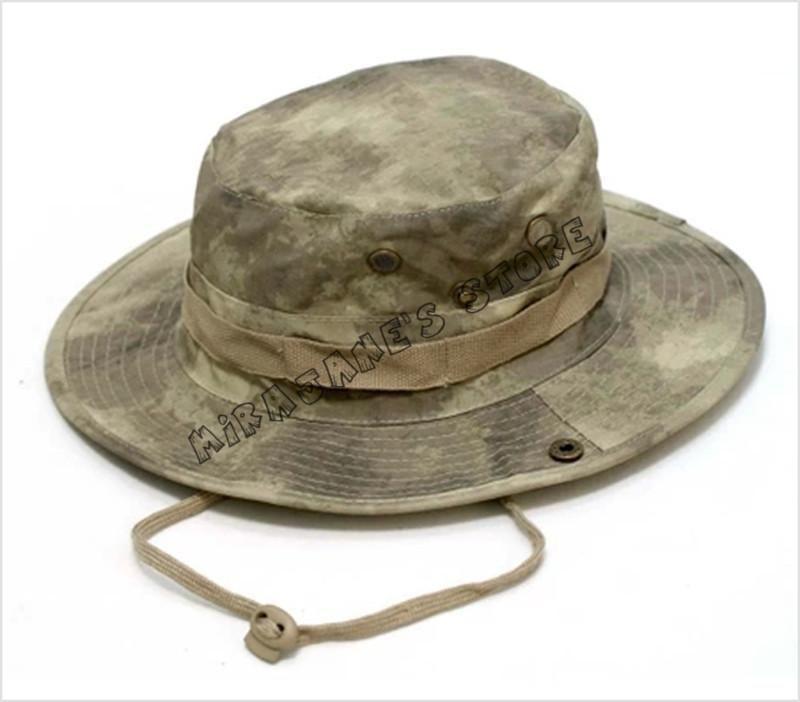 Men Women Fishing Wide-Brim Hunting Camo Hat Bonnie Military Bucket Cap