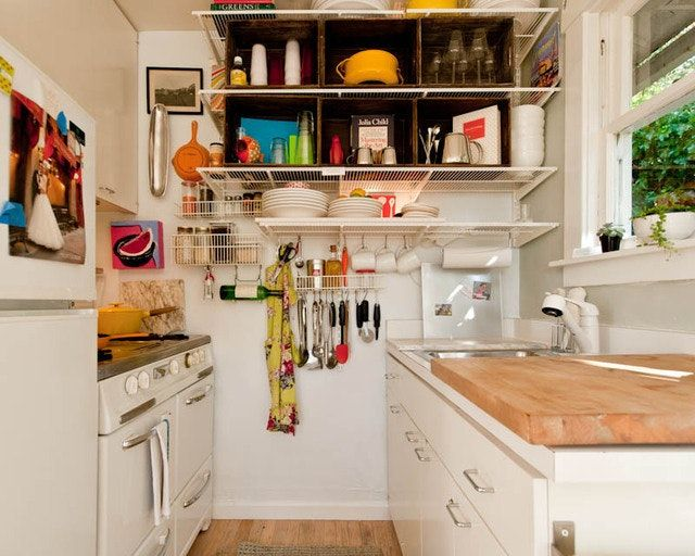 Small Kitchen Designs: 10 Organized, Efficient and Tiny Real-Life ...