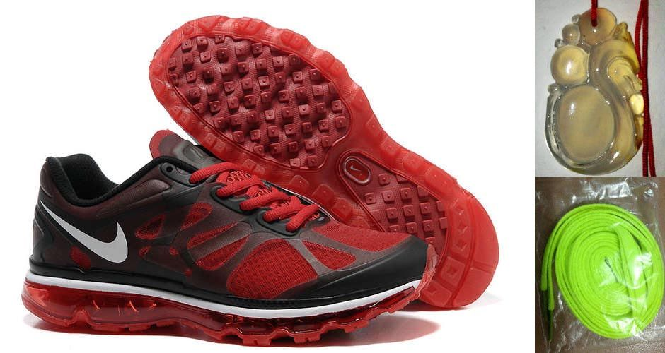 super popular 80b17 b1623 Chalcedony Dragon Volt Lace Mens Nike Air Max 2012 Action Red Black Dark  Grey Shoes