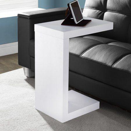 Monarch Accent Table White