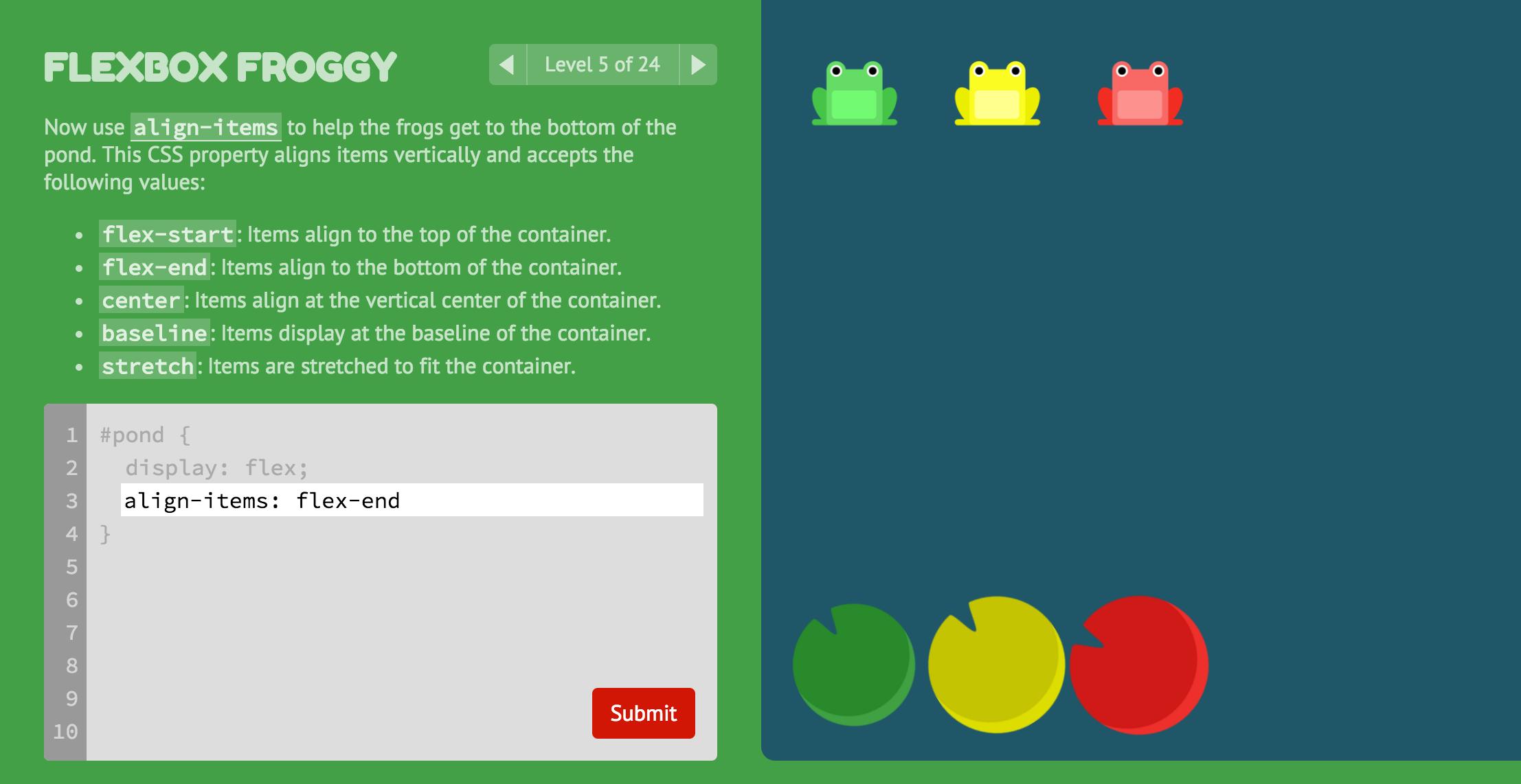 A Game For Learning Css Flexbox Web Design Tutorials Web Development Programming Web Development Design