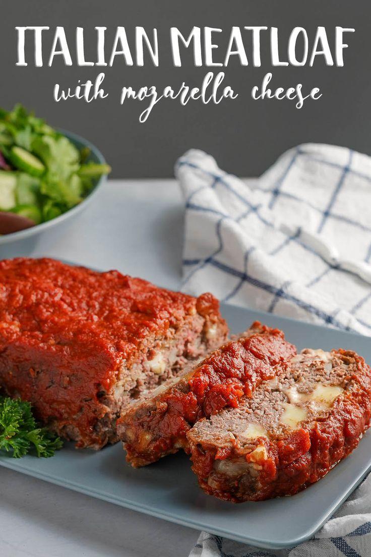 Italian Meatloaf Recipe Italian Meatloaf Meatloaf Recipes