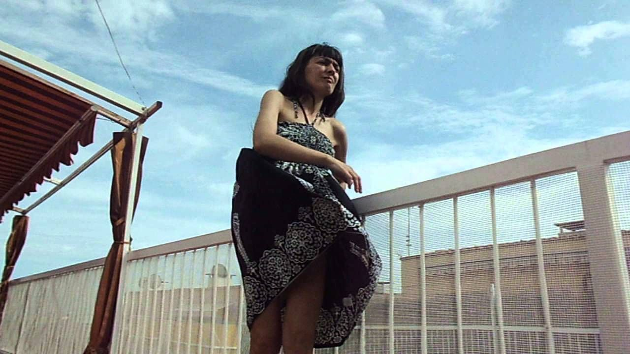 Making Of Funny Drupy Wind Skirt - Youtube  Windy Skirts -3485