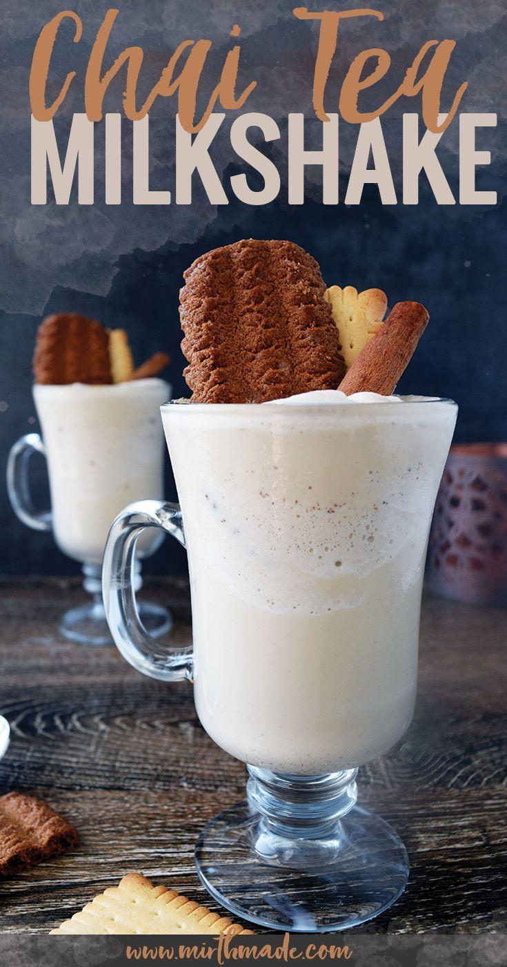 Chai tea milkshake recipe milkshake milkshake recipes