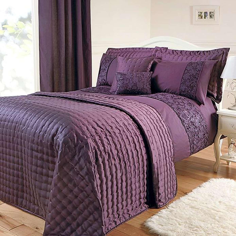 Dunelm Purple Bedding And Curtains Www Myfamilyliving Com