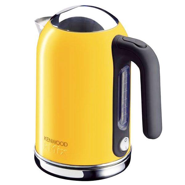 Yellow Small Kitchen Appliances: Kenwood KMix Brights Jug Kettle - Yellow
