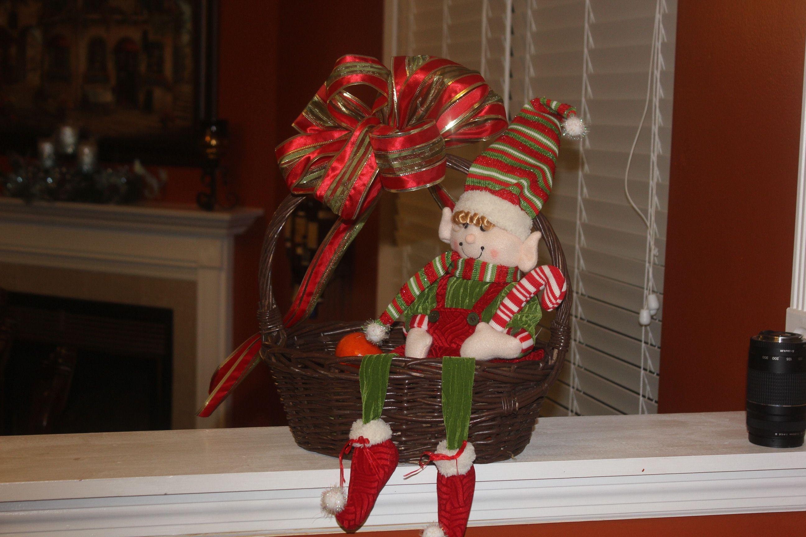 Elf in Basket