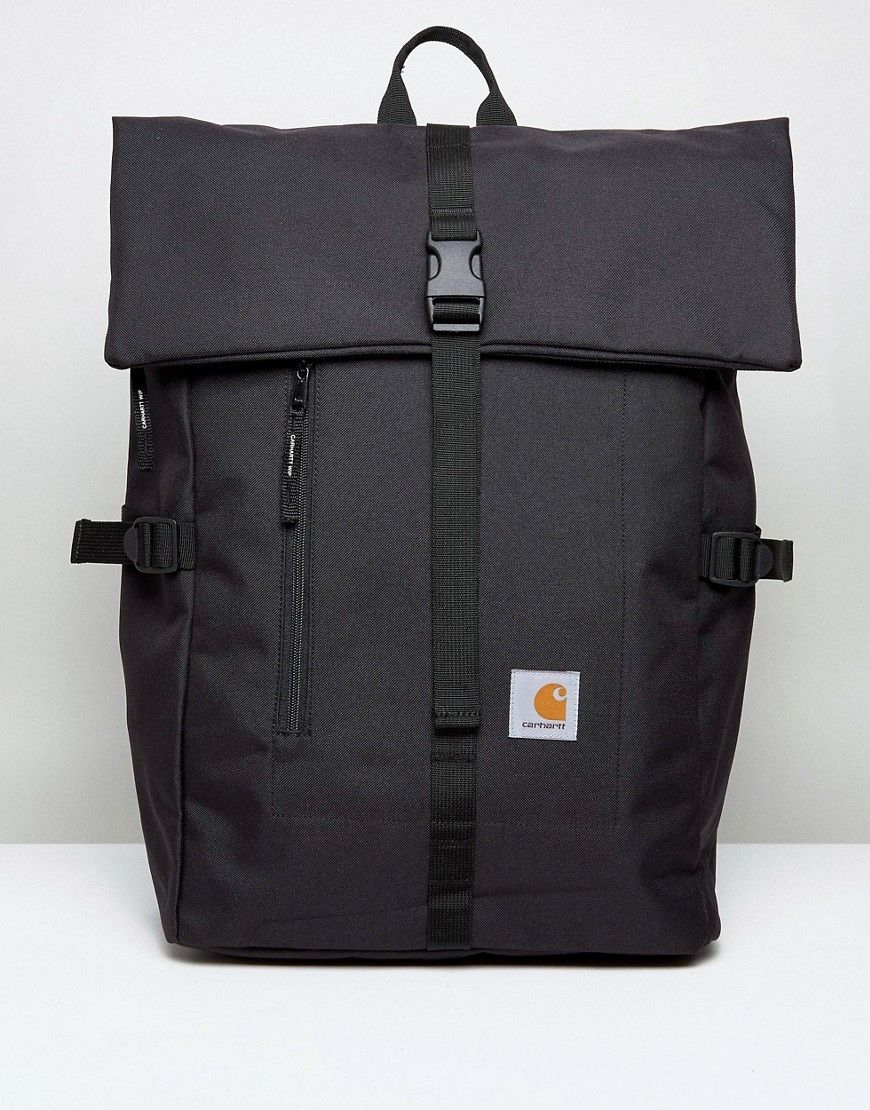 CARHARTT WIP PHIL BACKPACK - BLACK.  carhartt  bags  canvas ...
