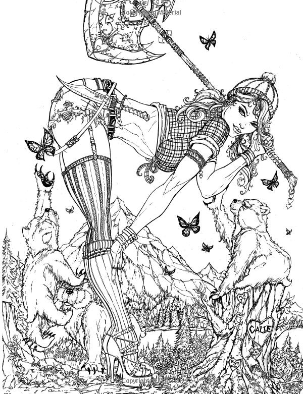 grimm fairy tales adult coloring book jamie tyndall