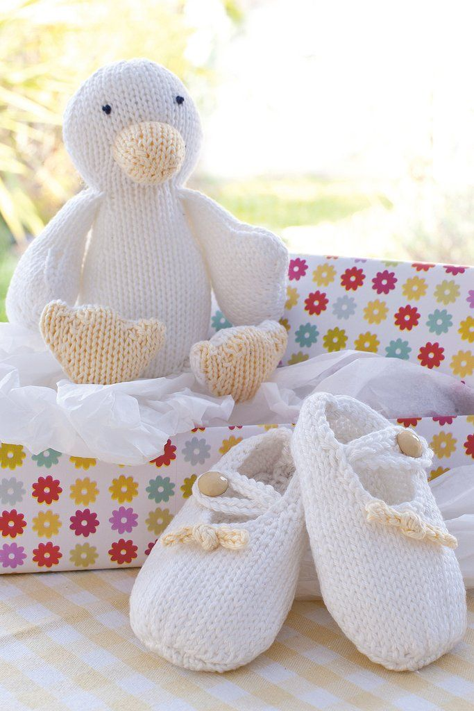 e356c4803650 Baby Booties And Duck Knitting Patterns