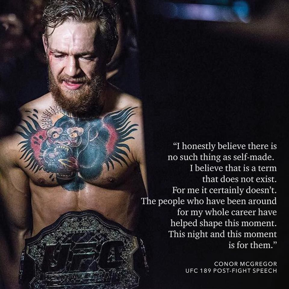 Conor Mcgregor Quote Okay That S Good Just Wish This Guy Would Stop Flipping Everybody The Bird And Yelling At Peopl Conor Mcgregor Quotes Conor Mcgregor Ufc