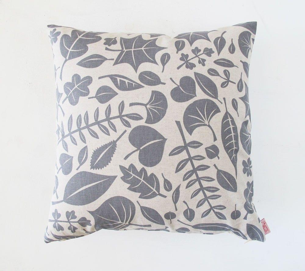 leaves cushion ++ skinny lamix {@Heather Moore}