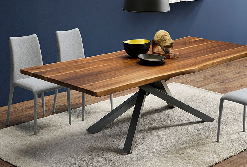 Metal Table Base Dining Table Conference Table Etsy Metal