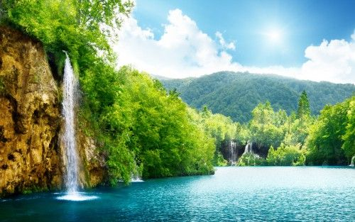 Nature Waterfall 4k Photos For Windows 10 Wallpaper Hd Hd Wallpapers Wallpapers Download High Resolution Wallpapers Waterfall Wallpaper Hd Nature Wallpapers Nature Desktop