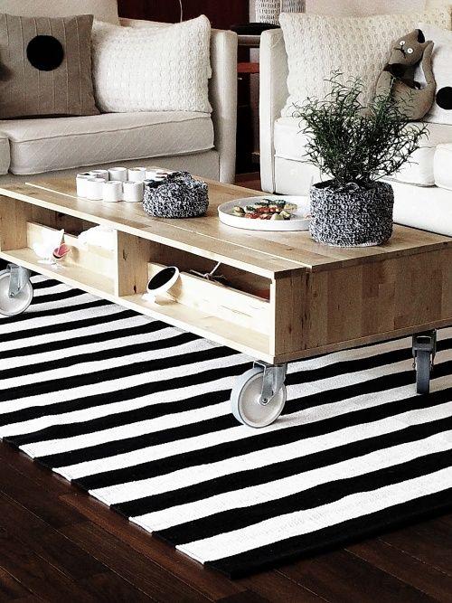 Schwarz-weiss-braun schwarz weiß Teppich, Weißer teppich und - wohnideen wohnzimmer braun weis