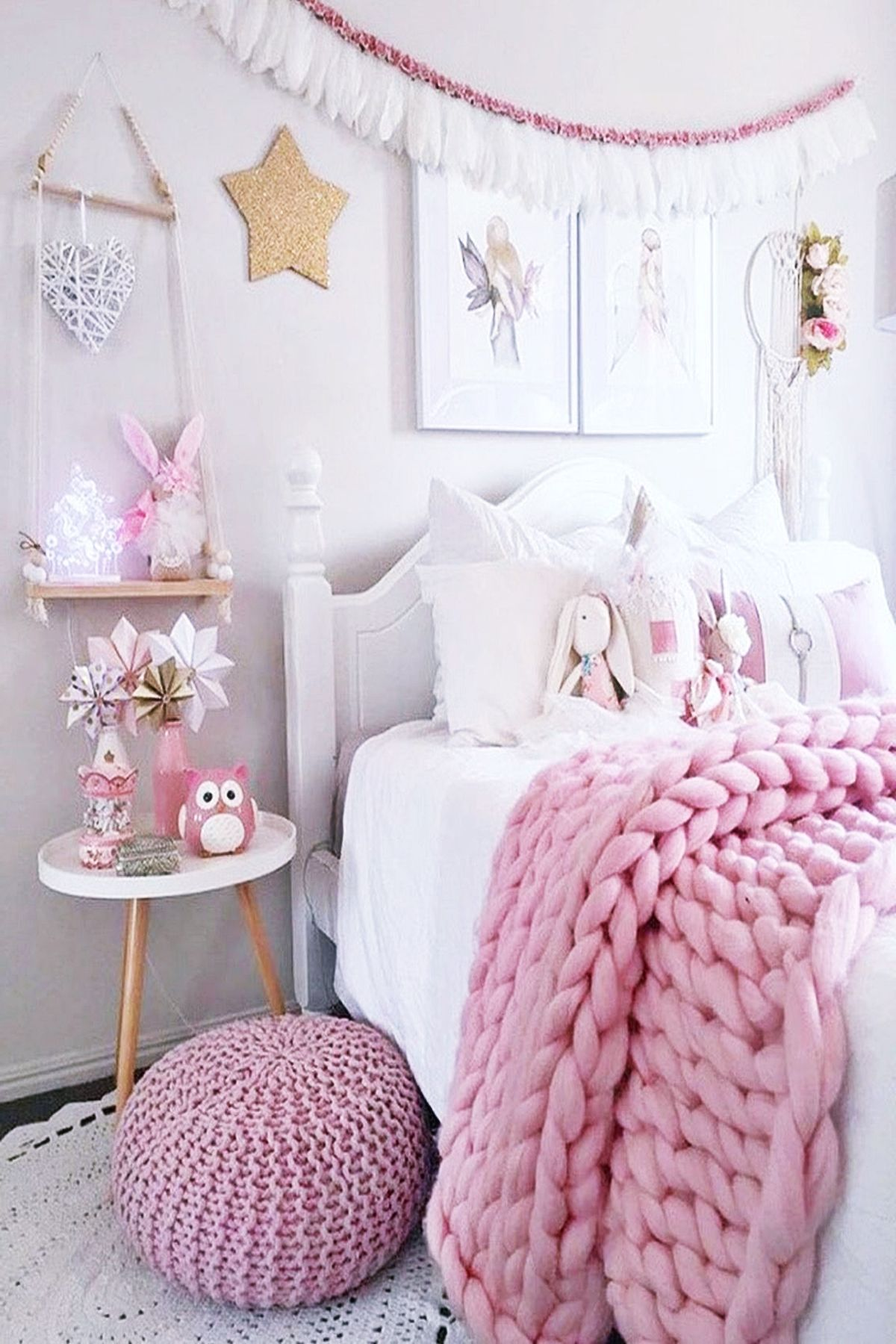 Little Girl Bedroom Ideas Grey Trends 2020 Fairytale Obsessed