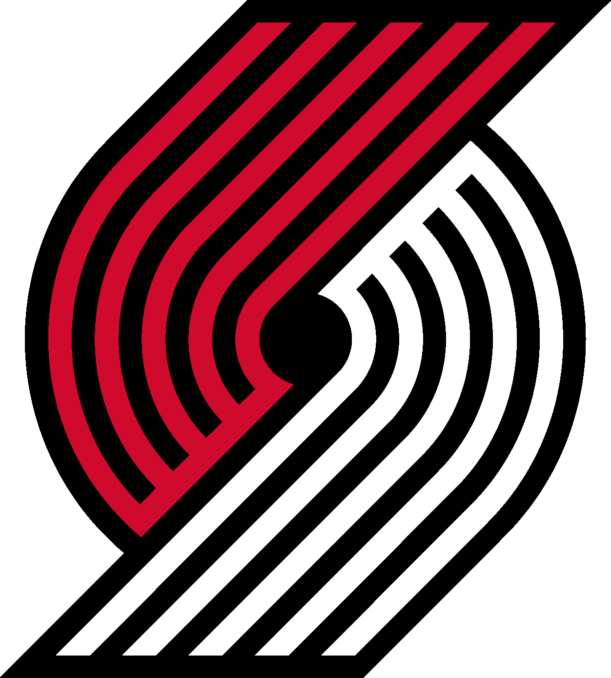 Portland Trail Blazers Logo Vector Eps Free Download Logo Icons Clipart Portland Trailblazers Trail Blazers Logo Basketball