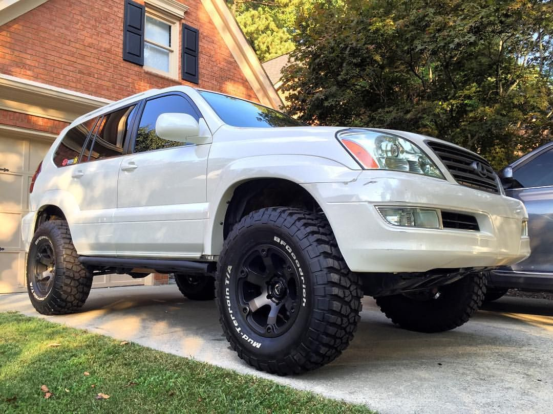 Daily... gx470 gxor lifted 35s toytechlifts bfgtires