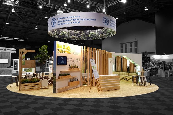 Expo Stands Durban : Fao pavilion by hott d durban u south africa retail design
