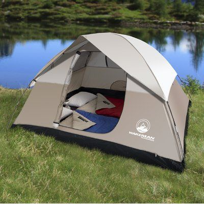 Backpack c&ing · Lavish Home Wakeman Dome 4 Person Tent & Lavish Home Wakeman Dome 4 Person Tent | Large Tents | Pinterest ...