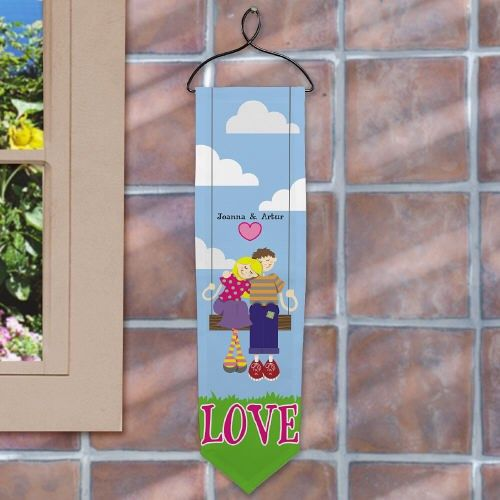 Personalized Swing Couple Banner