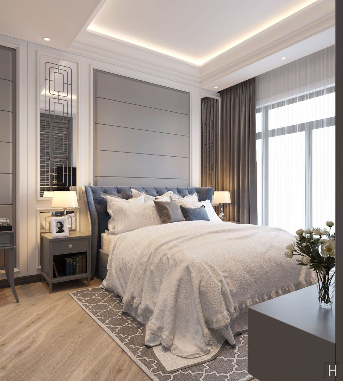 Luxury Master Bedroom Dubai On Behance: Q7 - LUXURY BEDROOM !!! On Behance