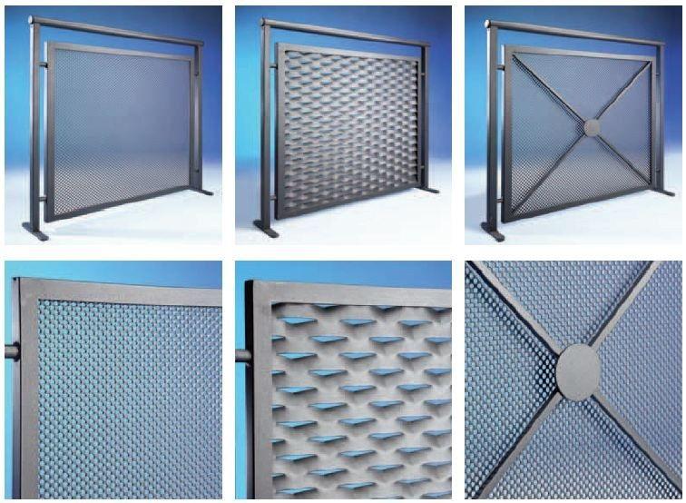 Parapetto per finestra e balcone in rete stirata by - Parapetto finestra ...