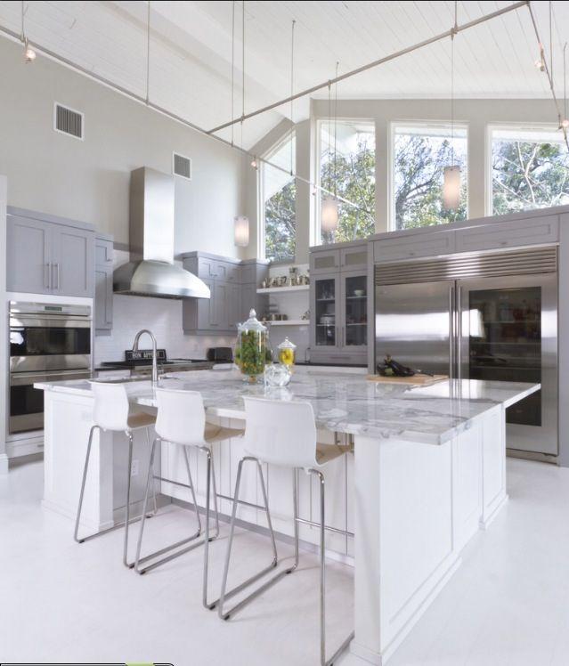 Love the fridge Kitchens Pinterest