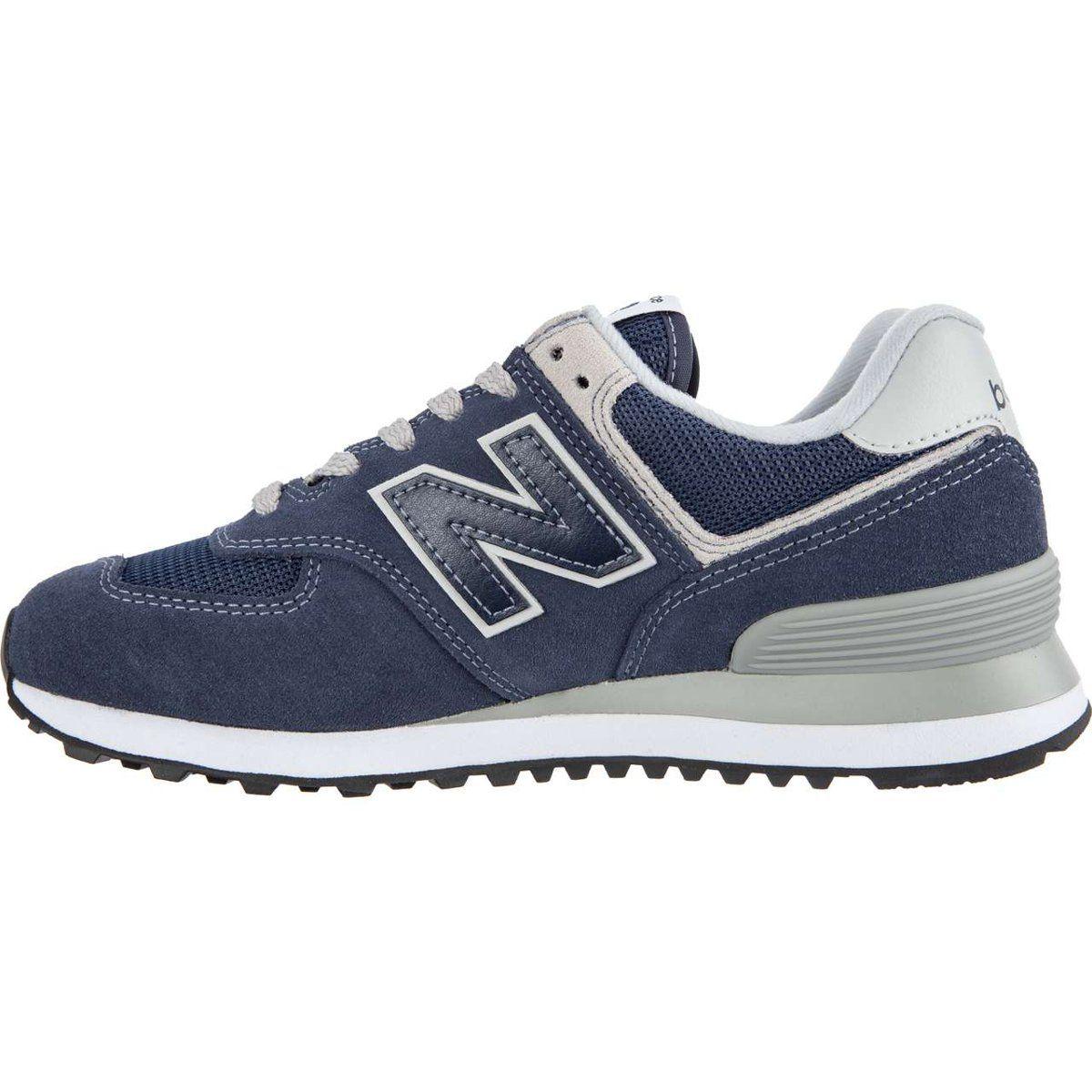 Sportowe Damskie Newbalance New Balance Granatowe Wl574en Navy With White New Balance Shoes New Balance Balance