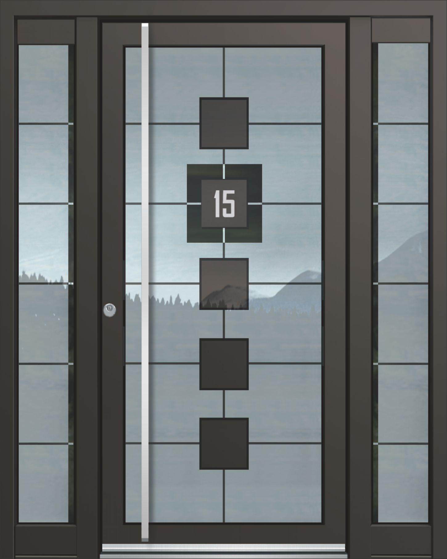 Inotherm Haustür Modell ASS 1841 Tür Mit Viel Glas Preis Auf Anfrage Bei  Www.1001
