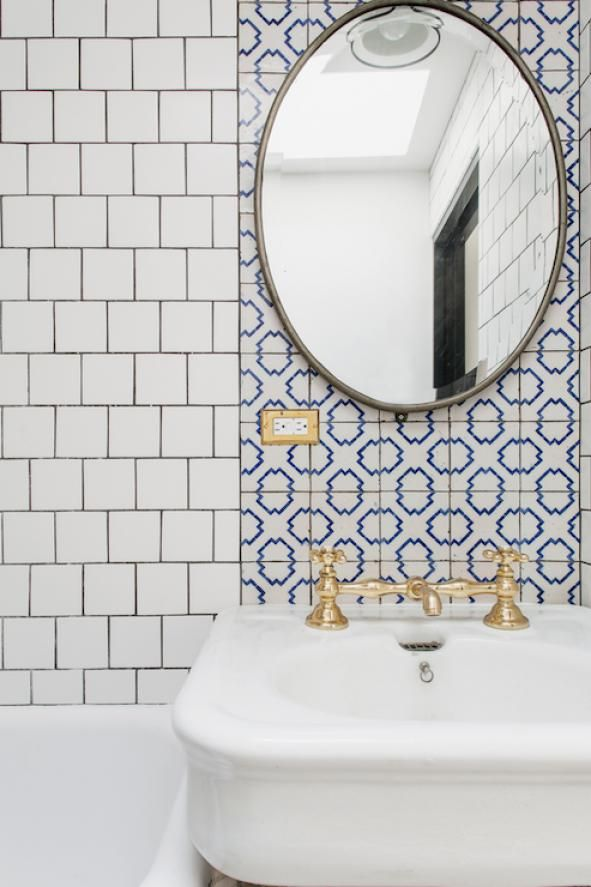 Photo of Changing the tile pattern definitely makes for a versatile bathroom! What you are doing …