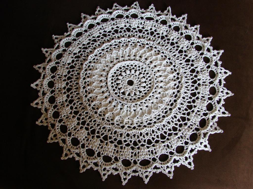 Crochet Doily - via @Craftsy