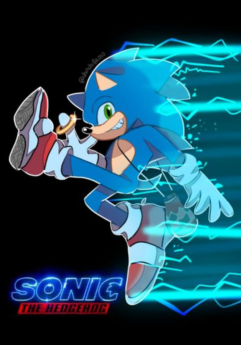 Sonic Movie Poster 2 By Chinchilla010 On Deviantart In 2020 Sonic Sonic Heroes Sonic The Movie
