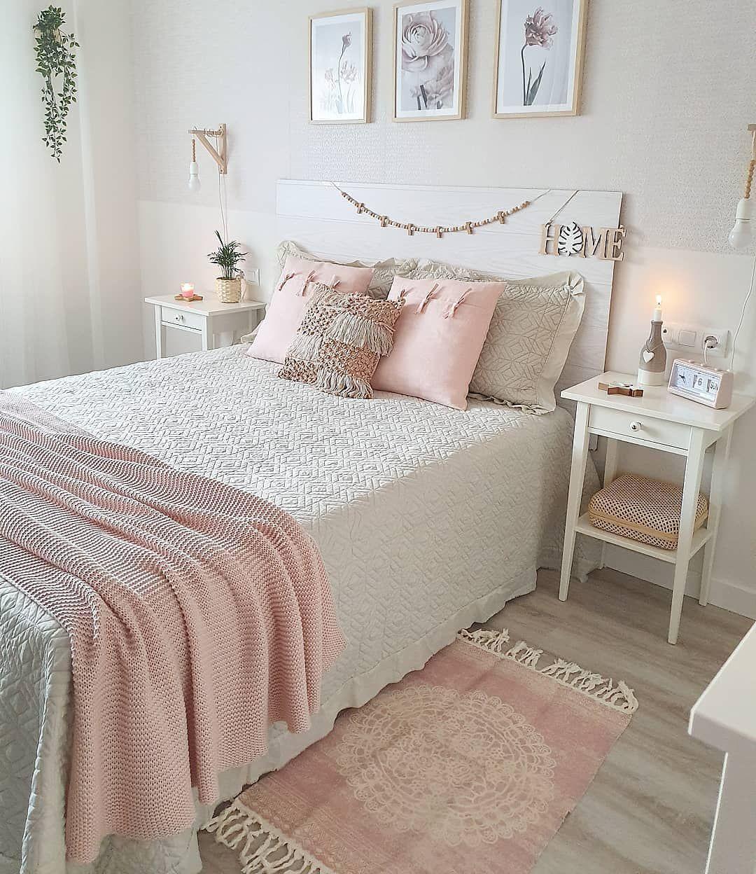 Rosenude Homedeco On Instagram Buenos Dias Os Gusta Colocar Alfombras En Vuest Cosas De Dormitorio Decoraciones De Dormitorio Diseno De Habitacion Femenina