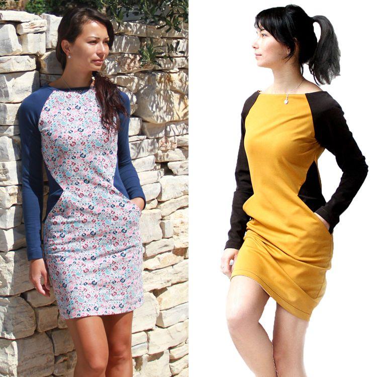 6bcdab2d4730 Střih na dámské šaty rafinovaně opticky zeštíhluje. Šaty mají lodičkový  výstřih
