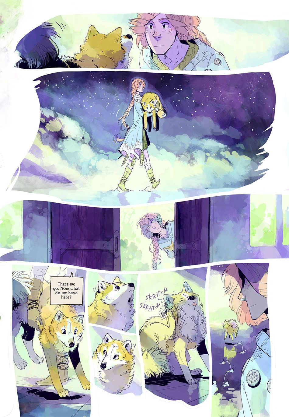 Stand Still Stay Silent Webcomic Page 229 Comic Book Layout Comic Layout Eagle Cartoon