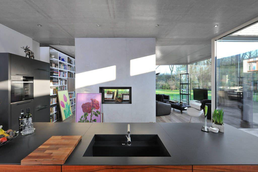Moderne Küche Bilder Das Atriumhaus Inspiration and Design - moderne kuche