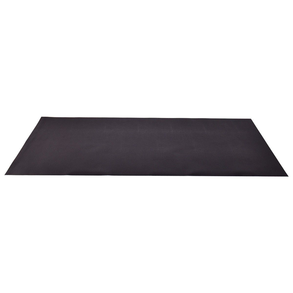 GYMAX Gymax 36 x 78 Large PVC Exercise Mat High Density Folding Floor Protector for Treadmill Equipment