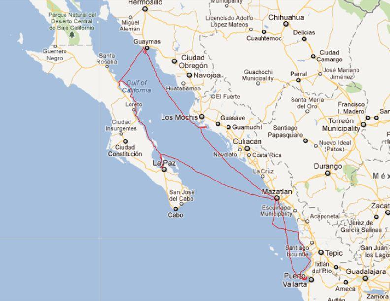 Sea Of Cortez Mexico Travel Sailing Trips Trip