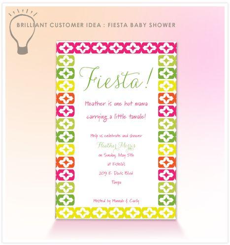 Fiesta Baby Shower invitation wording ¡Fiesta! Pinterest - baby shower invitations words