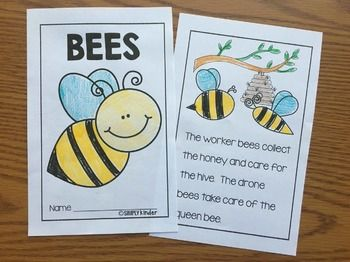 Insect Easy Readers for Little Learners by Simply Kinder | Teachers Pay Teachers