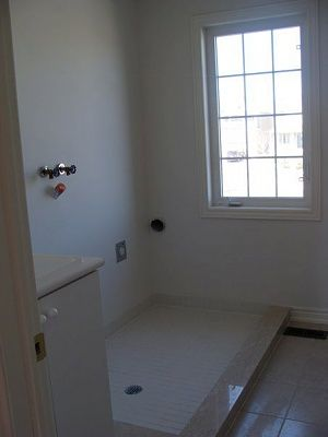 Washing Machine Pan Laundry Room Design Rooms Floor Drains Washer And
