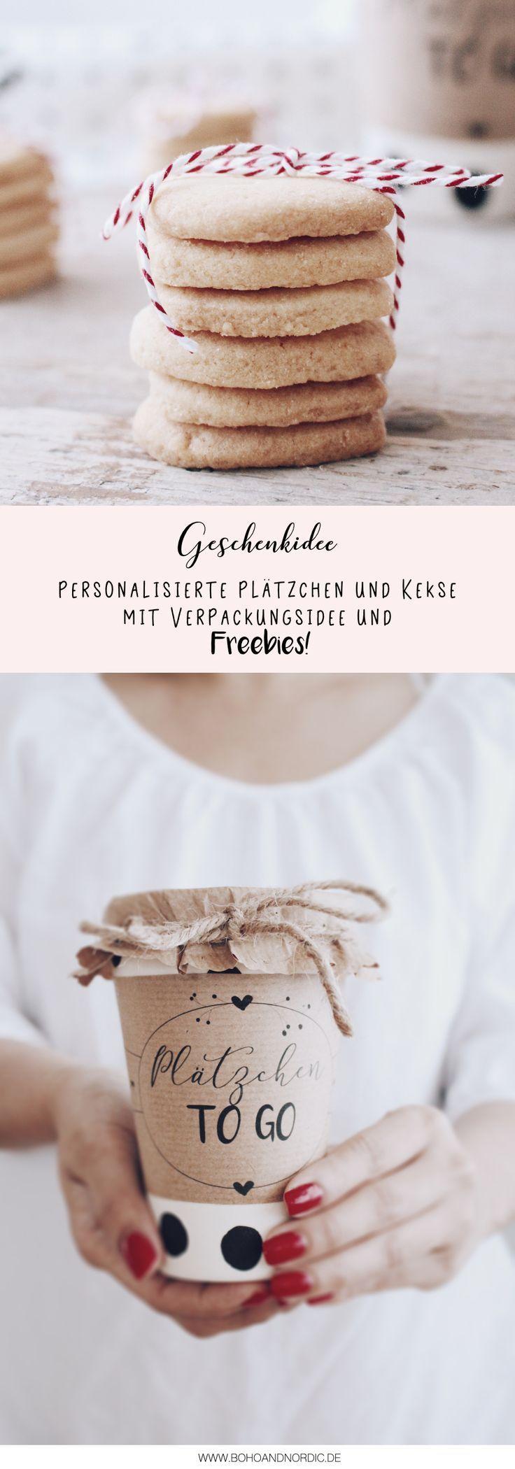 DIY Geschenkidee aus der Küche + Verpackungsidee und Freebie | Idee ...